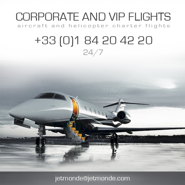 charter flights luxury
