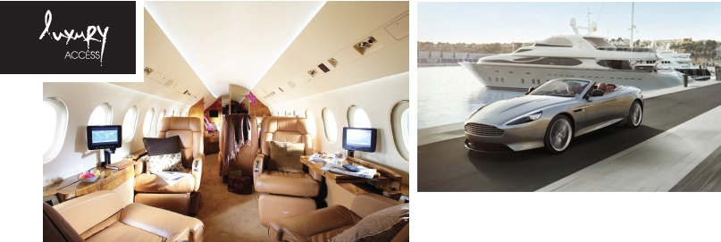 Luxury Access with jet Monde