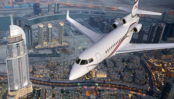 Location falcon 7x